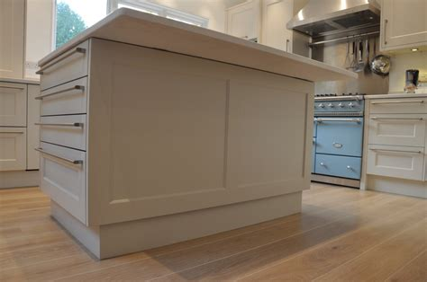 kitchen island panels bespoke shaker kitchen finesse kitchens