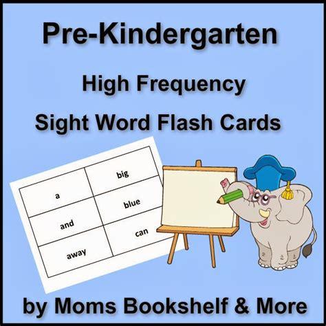 printable flash cards kindergarten sight words 8 best images of printable kindergarten flash cards free