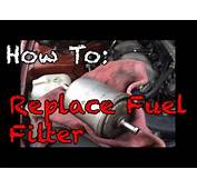 How To Replace A Fuel Filter  YouTube