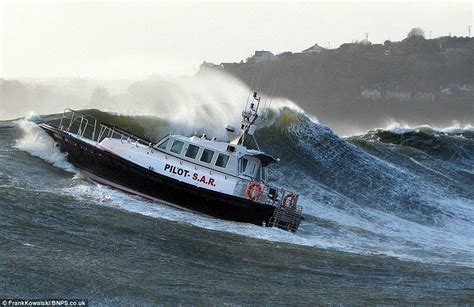 driving boat in waves get ready for another month of bad weather stormy sea