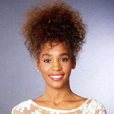 pictures of 1985 hairstyles whitney houston s changing looks instyle com