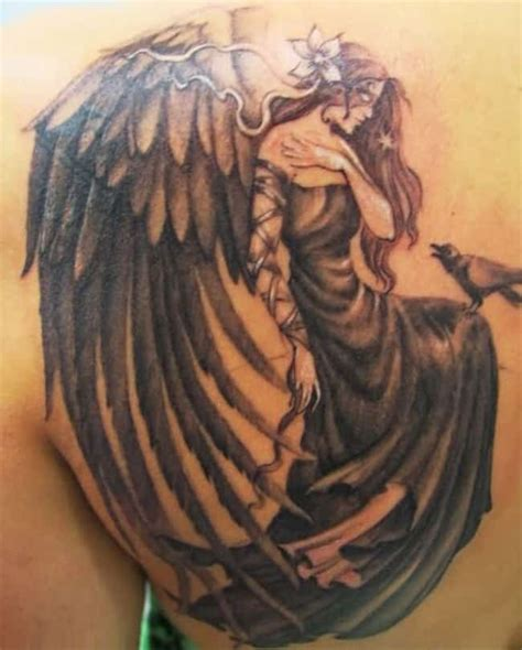 female angel tattoos 20 awesome designs pictures sheideas