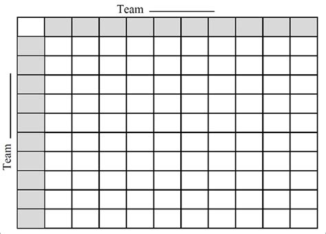 free football square template 2015 bowl squares template search results