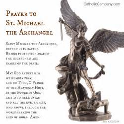 St michael the archangel prayer the catholic company