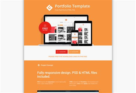 flat psd template 50 fresh resources for designers february 2016