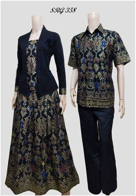 Batik Couplebatik Sarimbit Sarimbit Batik Batik Prada Srg 517 jual beli batik sarimbit hitam srg 358