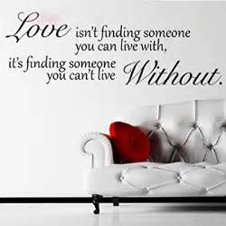 Love Quotes Wall Stickers Love Without Quote Wall Sticker Decal Hanging Mural Self