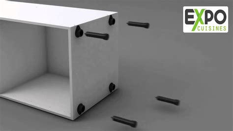 Montage Meuble colonne Four 200x60 avec 2 portes   YouTube
