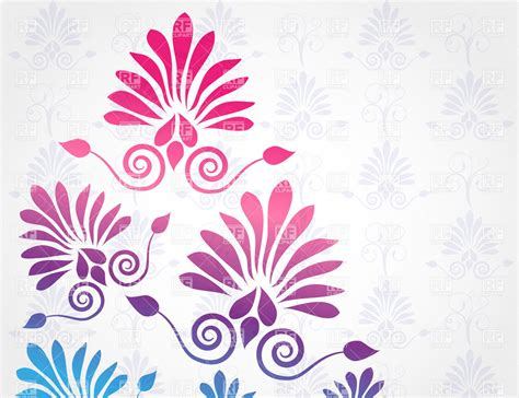 grey pattern clipart graphic floral pattern on gray background royalty free