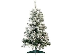 infactory k 252 nstlicher weihnachtsbaum im schneedesign 120