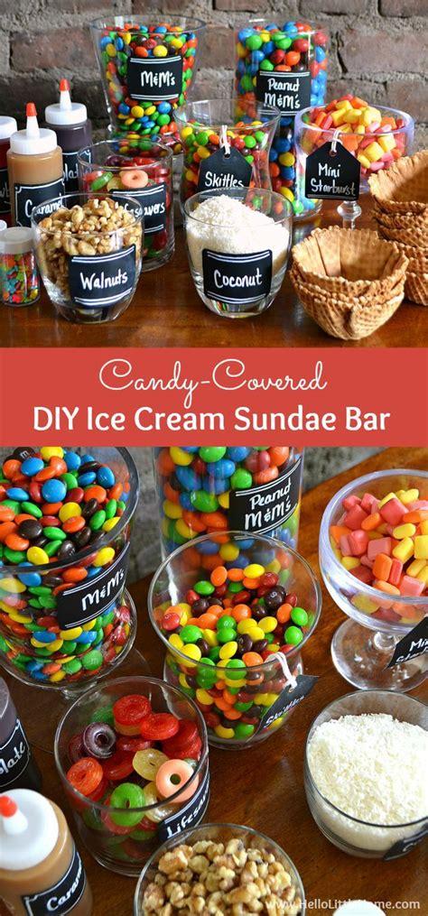 ice cream bar topping ideas best 25 sundae bar ideas on pinterest sunday ice cream