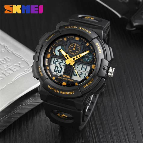 Jam Tangan Skmei 1155 Waterproof Digital Analog 100 Original Murah skmei jam tangan analog digital pria ad1270 black blue jakartanotebook