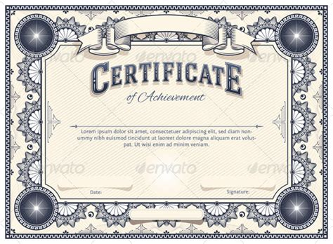certificate template certificate template and adobe