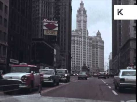 in color chicago 1960s chicago skyscrapers streets color footage