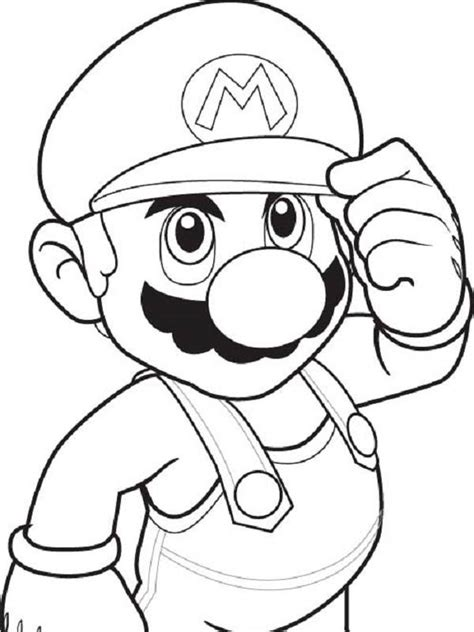 Oceanseven Mario Bros Sketch Painting 8 Tx mario drawing black and white pictures to pin on pinsdaddy