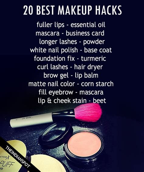 best hacks 10 best makeup hacks