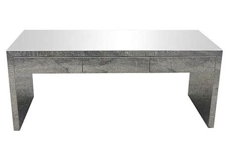 Sleek Mid Century Modern Chrome Desk Modernism Sleek Modern Desk