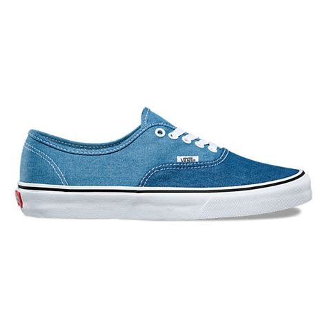 denim 2 tone authentic shop at vans