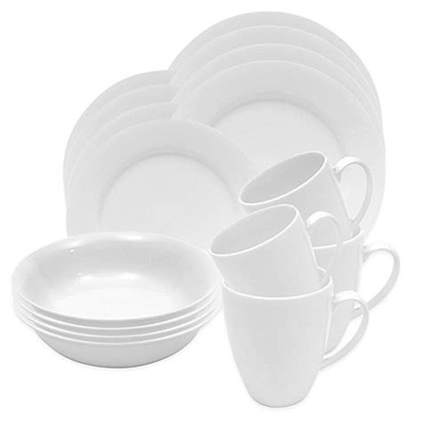 bed bath and beyond dinnerware sets maxwell williams white basics providence 16 piece