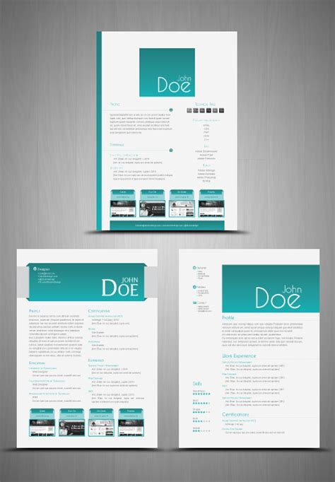 3 Cv Resume Indesign Templates Clean by Stockindesign 3 Cv Resume Templates Stockindesign