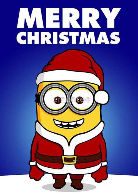 santa minion merry christmas love  minions pinterest santa funny minion  xmas