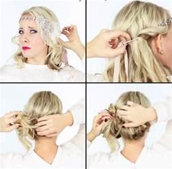 frisuren anleitung mit haarband 20er frisuren selber machen 40 haarstylings zur mottoparty