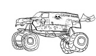 Grave Digger Coloring Pages Free Coloring Pages Grave Digger Coloring Page