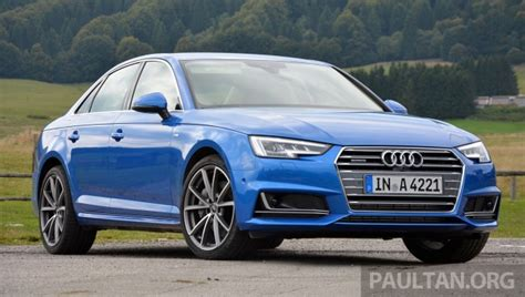 DRIVEN: B9 Audi A4   handsome suit, inner beauty
