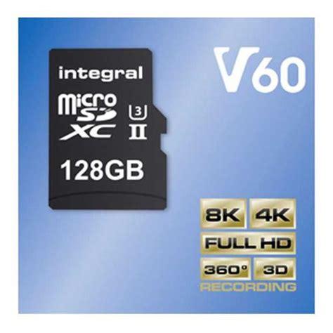 V 128 Gb Hyper 98 Mbs Sdxc Card integral 128gb ultimapro x2 v60 micro sd card sdxc uhs ii u3 adapter 280mb s 163 98 99 free