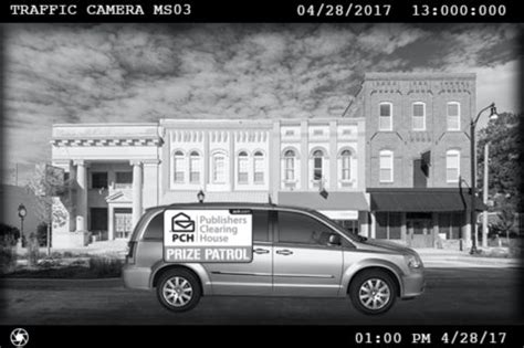 Pch Prize Patrol 2017 - will the traffic cameras in your town spot the prize patrol van pch blog