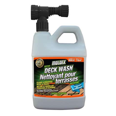 moldex instant deck fence wash  home depot canada