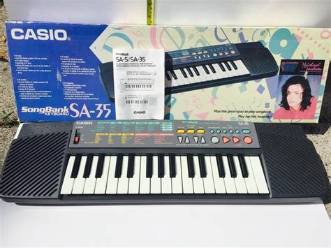 Keyboard Casio Sa 35 Casio Sa 35 Songbank Portable 32 Key Keyboard With Lesson
