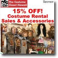 The Costume Closet Hawaii by Sales Coupons Discounts Honolulu Hawaii
