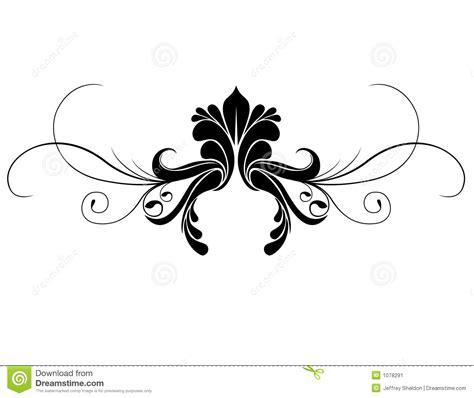 An Ornamented by Ornament Zwoju Ilustracja Wektor Obraz Złożonej Z Element