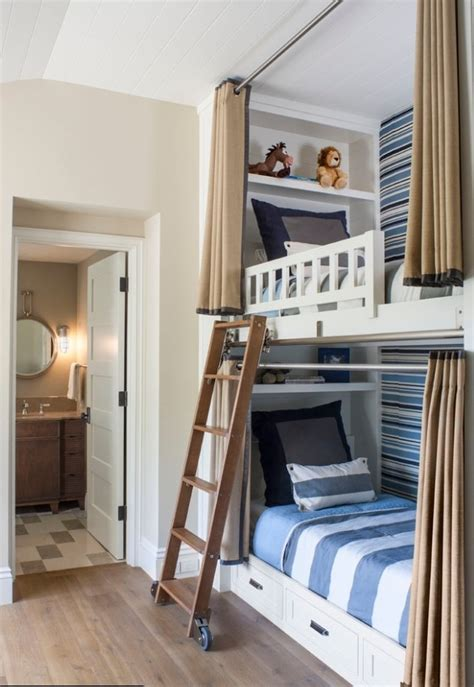 Boy S Bunk Bed Bedroom Beautiful Design Pinterest Bunk Bed Boys