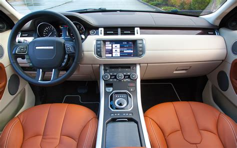 range rover truck interior land rover range rover evoque 2012 suv of the year