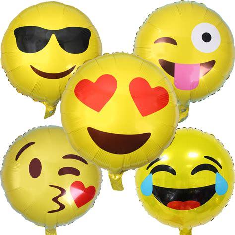 Balon Foil Big Size 5pcs big size qq smile foil balloon baby globos