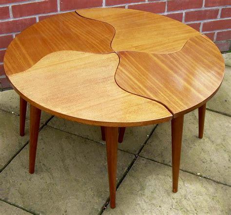 jigsaw puzzle coffee table antiques atlas a circular jigsaw coffee table