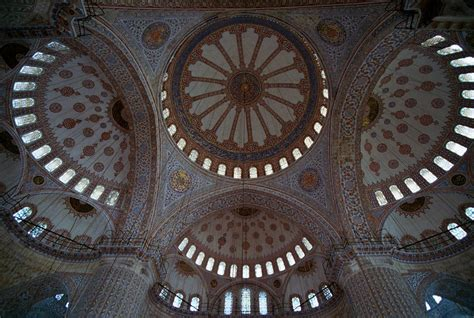 Blue Mosque Ceiling by Blue Mosque Ceiling A Photo From Istanbul Marmara