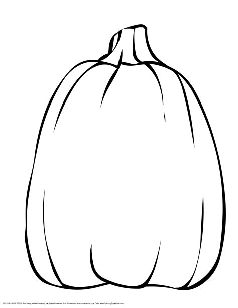 Pumpkin Pattern Coloring Page Printable Free Large Images Pumpkin Coloring Pages
