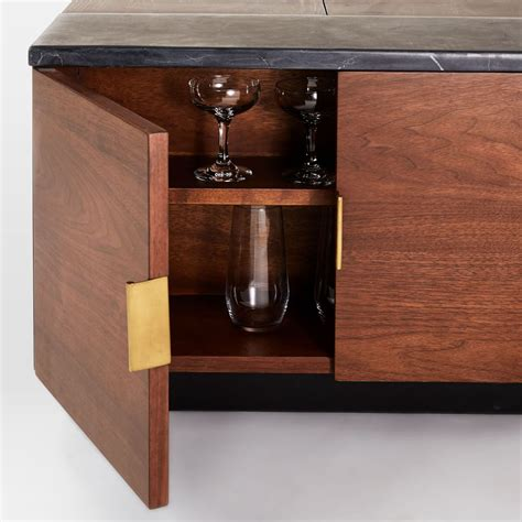 Bar Coffee Table Hyde Storage Secret Mini Bar Coffee Table So That S Cool