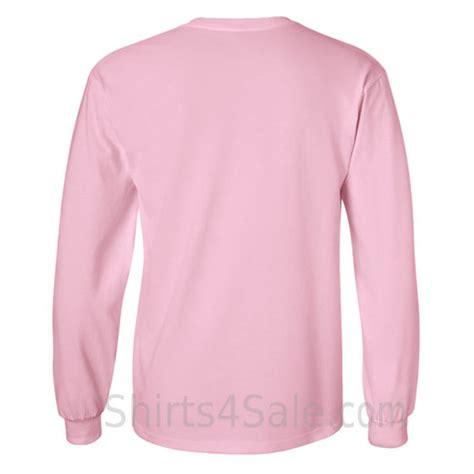 Light Pink Sleeve Shirt by Gildan Ultra Cotton 100 Cotton Sleeve T Shirt
