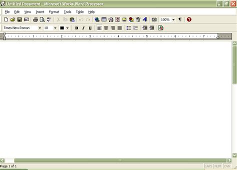 Microsoft Works Word Processor Templates by Ms Works Screenshots