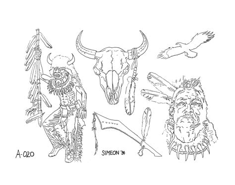tattoo native american designs american tattoos