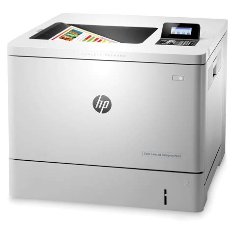 hp laser color printer hp laserjet enterprise m553n color laser printer b5l24a