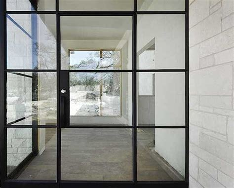 Exterior Steel Door With Window Hardscaping 101 Steel Factory Style Windows And Doors Gardenista