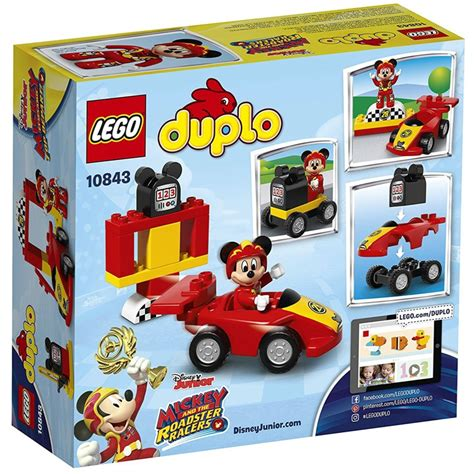 Lego Duplo 10843 Mickey Racer Bad Box lego duplo sets 10843 mickey racer new