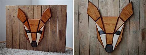 178 Desain Hiasan Interior Ruangan Jam Dinding Kayu Bunga cara desain hiasan dinding hewan berbentuk geometris