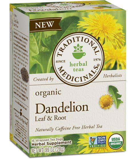 Dandelion Root Or Leaf For Detox by Dandelion Leaf Root Traditional Medicinals