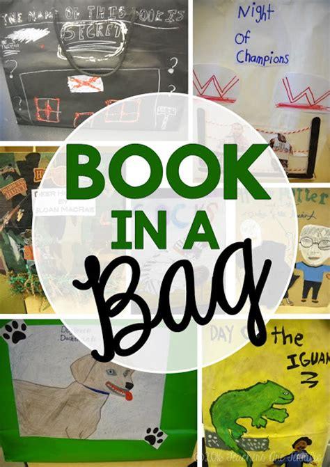 book report in a bag book in a bag project a great alternative to a book